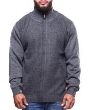 Big & Tall - Fleece Lined Full Zip  Sweater (B&T)-2300438