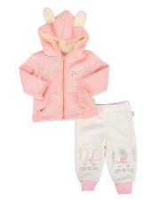 Duck Duck Goose - Bunny 2Pc Fleece Set (Infant)-2295256