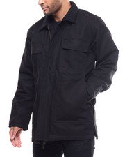 Heavy Coats - Quilted Barn Jacket-2300089