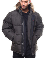 "Heavy Coats - Golden Peak 30"" mid length Puffer Coat by Joe Whistler-2300084"