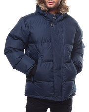 "Heavy Coats - Golden Peak 30"" mid length Puffer Coat by Joe Whistler-2300053"