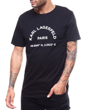 KARL LAGERFELD PARIS - KL Paris Latitude Tee-2300047