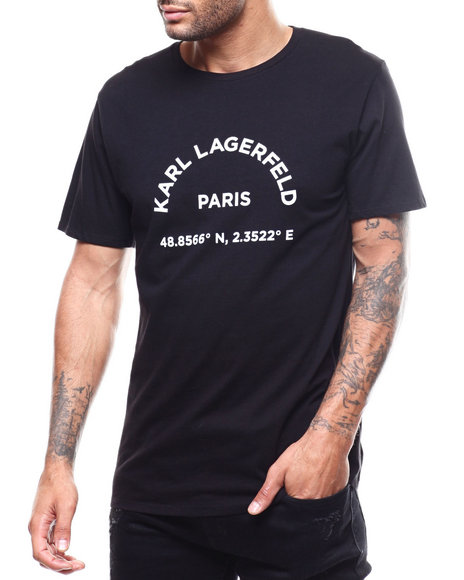 KARL LAGERFELD PARIS - KL Paris Latitude Tee