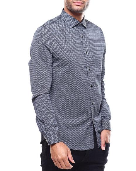 KARL LAGERFELD PARIS - DASH PRINT Buttondown Shirt