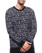 Mens-Holiday - Textured Sweater-2300058