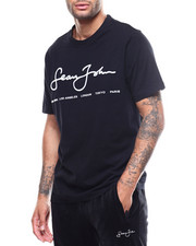 Athleisure for Men - SS Script Tee-2299245
