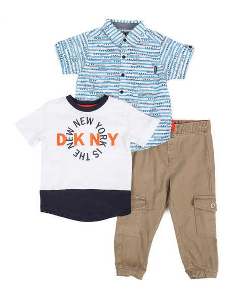 DKNY Jeans - City 3Pc Set (2T-4T)