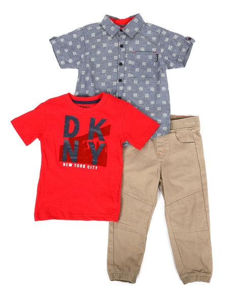 DKNY Jeans - NYC 3Pc Set (2T-4T)