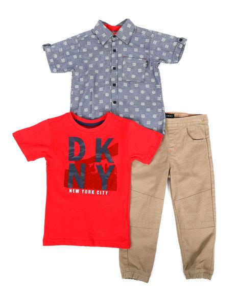 DKNY Jeans - NYC 3Pc Set (4-7)