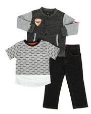 Boys - York Avenue 3Pc Set (2T-4T)-2296700