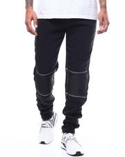 Sweatpants - Double Zip Knee Jogger-2300432