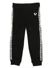 True Religion - Tape Logo Sweatpants (4-7)-2298296