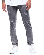Jeans & Pants - Black Ripped Stretch Jean-2298894