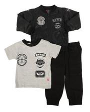 Sizes 2T-4T - Toddler - 3Pc Jacket Set (2T-4T)-2296863