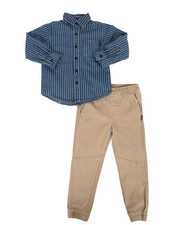 Boys - NYC Stripe 2Pc Set (4-7)-2296771