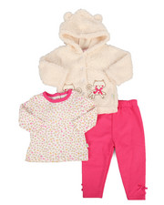 Duck Duck Goose - 3 Piece Sherpa Set (Infant)-2296840