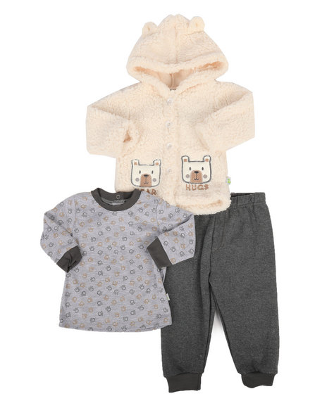 Duck Duck Goose - 3 Piece Sherpa Set (Infant)