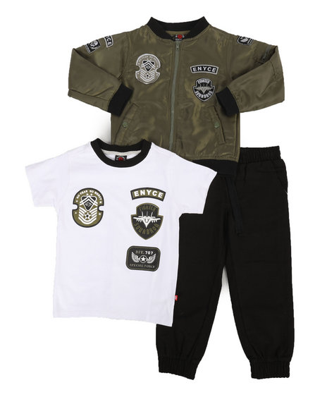 Enyce - Air Force 3Pc Jacket Set (4-7)