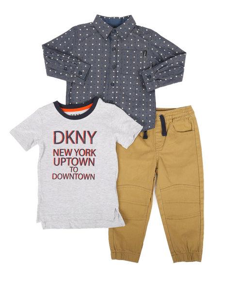 DKNY Jeans - Park Avenue 3Pc Set (2T-4T)