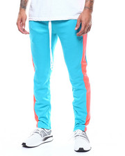 MADBLUE - Tricot Track pant w elongated string-2298940