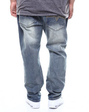 Big & Tall - BLUE CULT Vintage Wash Jeans (B&T)-2300717
