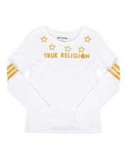 True Religion - Long Sleeve Star Tee (8-20)-2299124