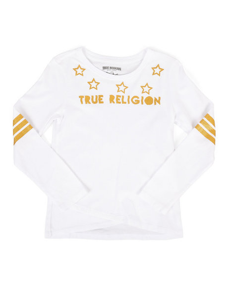 True Religion - Long Sleeve Star Tee (8-20)