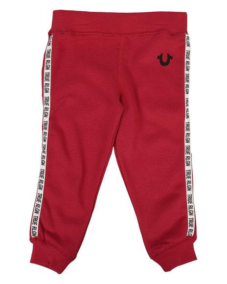 True Religion - Tape Logo Sweatpants (2T-4T)