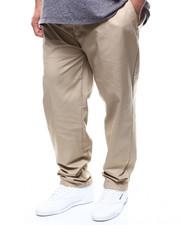 Big & Tall - Flat Front Twill Pant (B&T)-2300156