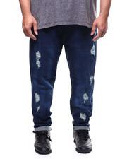 Big & Tall - Denim Ripped & Repair Jeans (B&T)-2300622