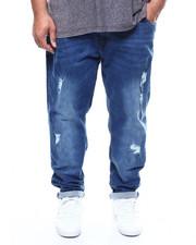 Big & Tall Faves - Denim Ripped & Repair Jeans (B&T)-2300398