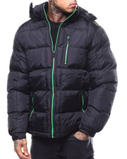 Heavy Coats - Bright Zip Puffer JKT-2301278