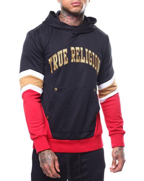 True Religion - LS COLOR BLOCKED ACTIVE HOODIE