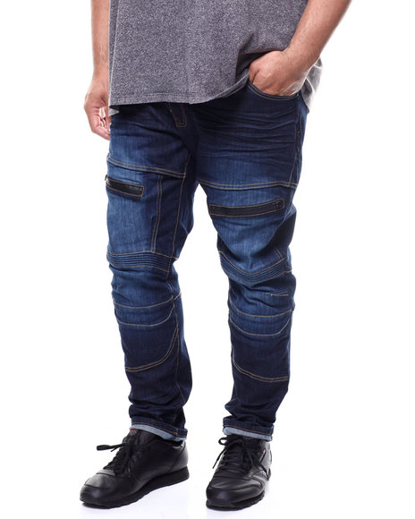 SMOKE RISE - Fashion Denim Jean (B&T)