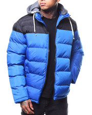 Heavy Coats - Colorblock Puffer Jacket-2301308