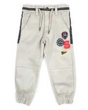 Bottoms - Athletic Twill Jogger Pants (2T-4T)-2298768