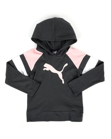 True Religion - Jersey Color Block Pullover Hoodie (4-6X)