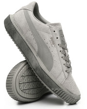 Puma - Evolution Breaker Suede Concrete Sneakers-2300986