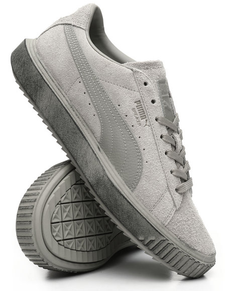 Puma - Evolution Breaker Suede Concrete Sneakers