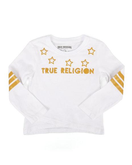True Religion - Long Sleeve Star Tee (2T-4T)