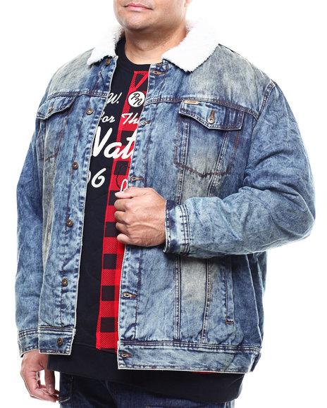 Parish - Denim Jacket/Sherpa Collar (B&T)