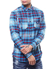 Parish - PLAID WOVEN SHIRT-2301822