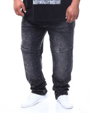 Parish - Mens Military Zip Denim (B&T)-2302052