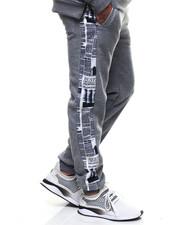 Sweatpants - Newspaper print Sweatpant-2301705