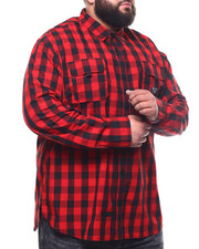 Parish - L/S Plaid Woven (B&T)-2302057