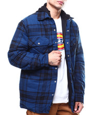 Outerwear - Relaxed Icon Plaid Quilted Shirt Jacket-2301644