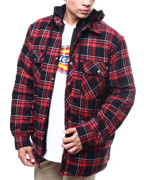Dickies - Relaxed Icon Plaid Quilted Shirt Jacket