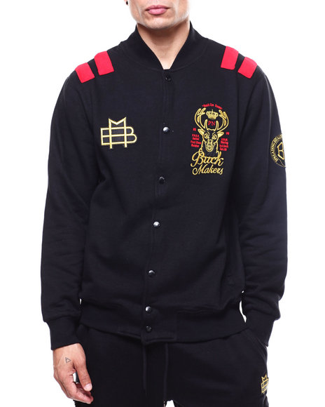 Parish - Buck Makers Black Out Bomber Jacket