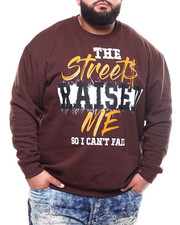 Pullover Sweatshirts - The Street Raised Me Sweatshirt (B&T)-2301882