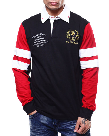 Parish - BUCK MAKERS L/S RUGBY